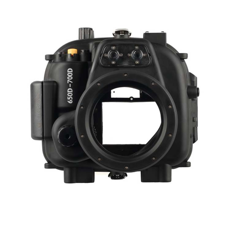 Meikon 40m 130ft Underwater Waterproof Housing Case For Canon Eos