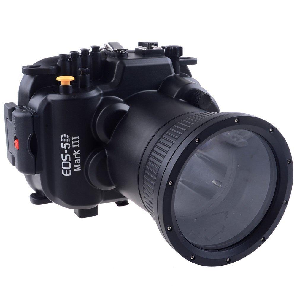 Meikon 60m 190ft Waterproof Underwater Camera Housing Case