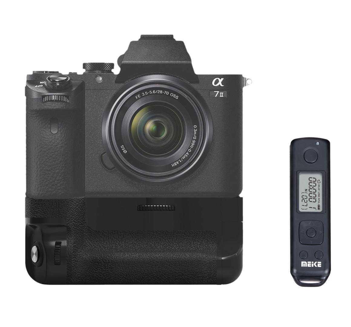 Meike MK-A7II Pro Built-in 2 4g Wireless Control Battery