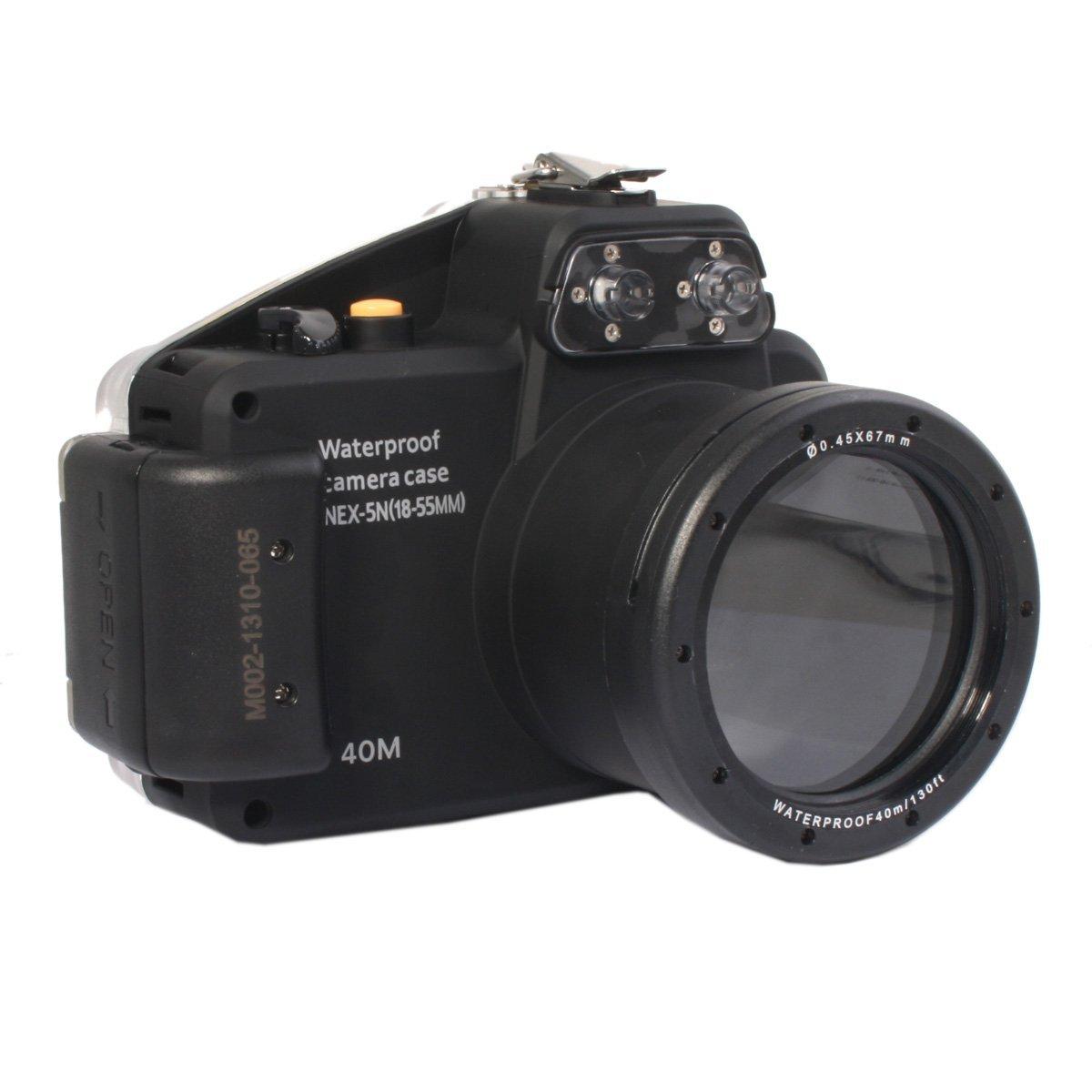 meikon 40m 130ft waterproof underwater camera housing case for sony rh meikestore com sony fs5 user manual nex 5 user manual