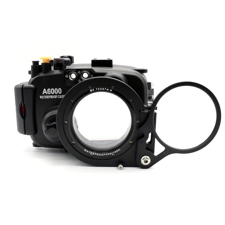 Meikon 67mm Adapter Mount for Sony A6000 with Macro Fisheye Wide-Angle ...