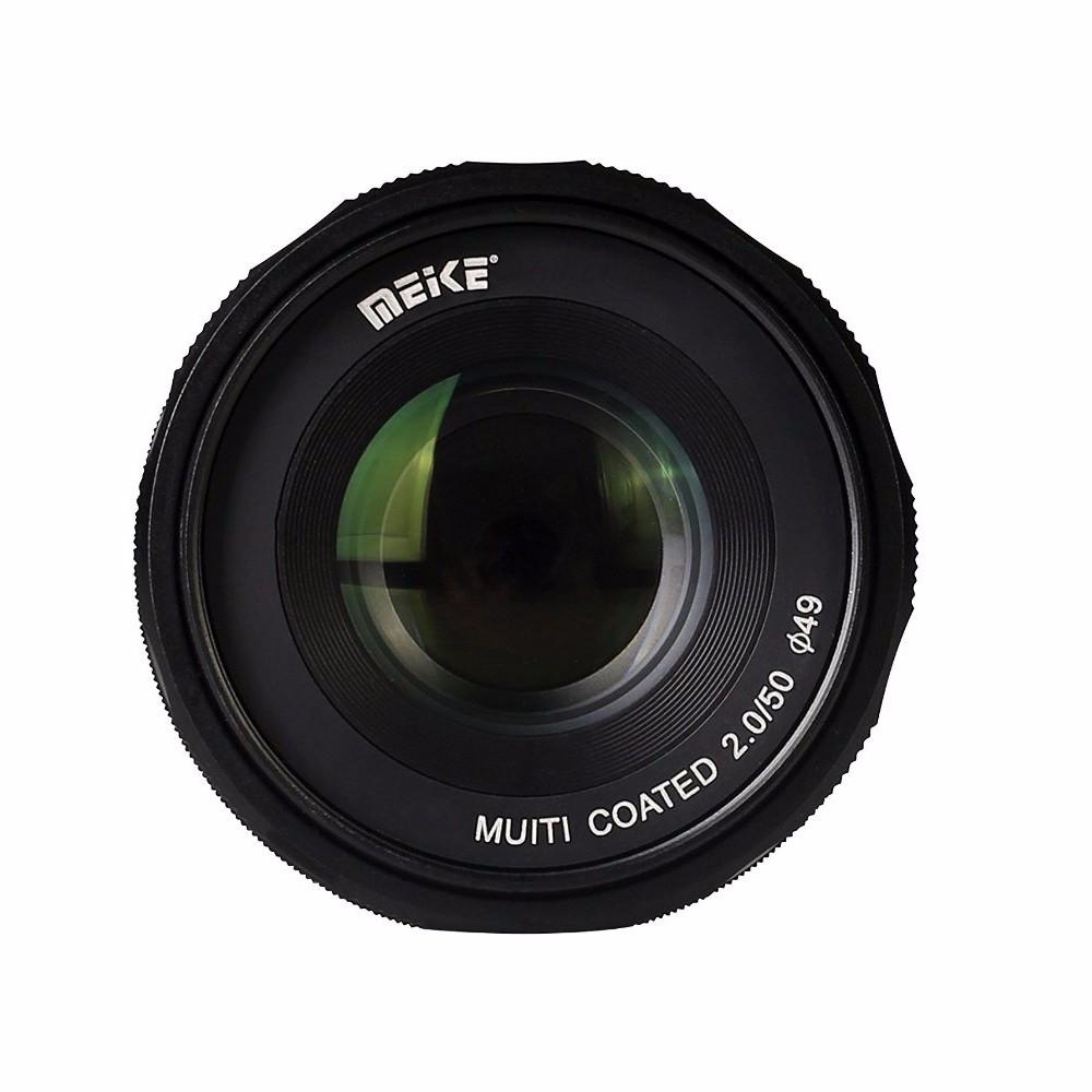 meike mk 4  3 50 2 0 50mm f 2 0 large aperture manual focus lens aps c for 4  3 system mirrorless panasonic dmc gh1 manual Panasonic GH1 Lenses